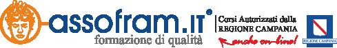 Logo Assofram Corsi riconosciuti dalla Regione Campania e validi in Europa, On line, Formazione Tatuaggio, Meccatronico, Fad, Truccatore, Estetista, Opi, Corso Oss,